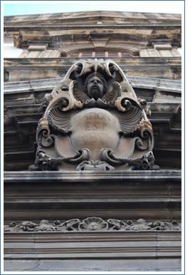 Particolare del portale